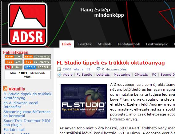 adsr.hu 1001 feliratkozóval