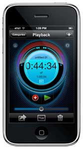 Bias iProRecorder Iphone/iPod Touch felvevő alkalmazás