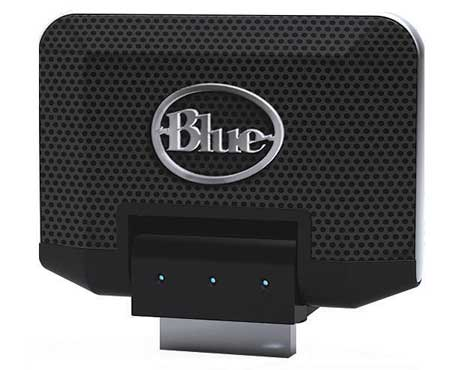 Blue Microphones Mikey sztereo kondenzátor mikrofon Apple iPod-hoz