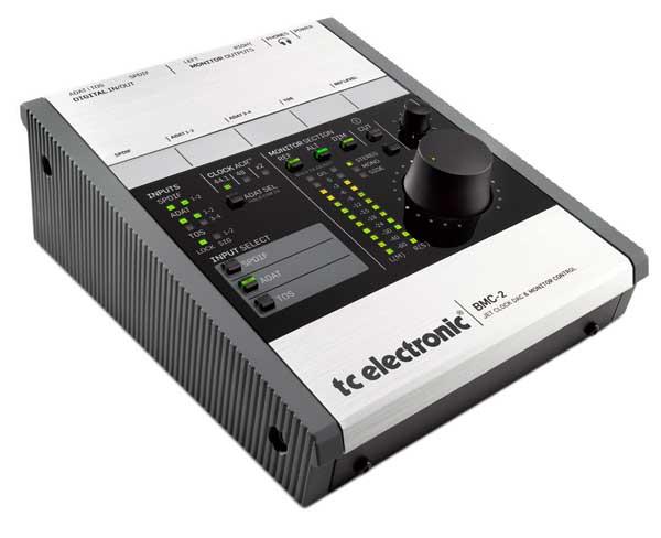 TC Electronic BMC-2 DAC és monitor kontroller