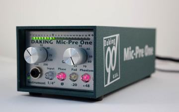 Daking Mic Pre One mikrofon előfok és DI