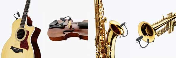 DPA 4099 Guitar, Violin, Sax, Trumpet mikrofon