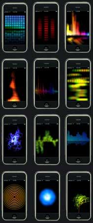 iQualizer iPhone vizualizációs szoftver