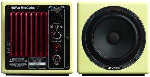 Avant Electronics Avantone Mixcubes aktív hangfal előlap hátlap