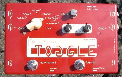 Molten Voltage Toggle dinamikus/programozható A/B kapcsoló pedál