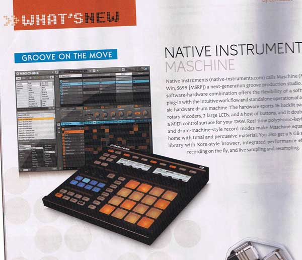Native Instruments Maschine HW+SW groovebox
