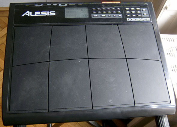 Alesis Performance Pad front