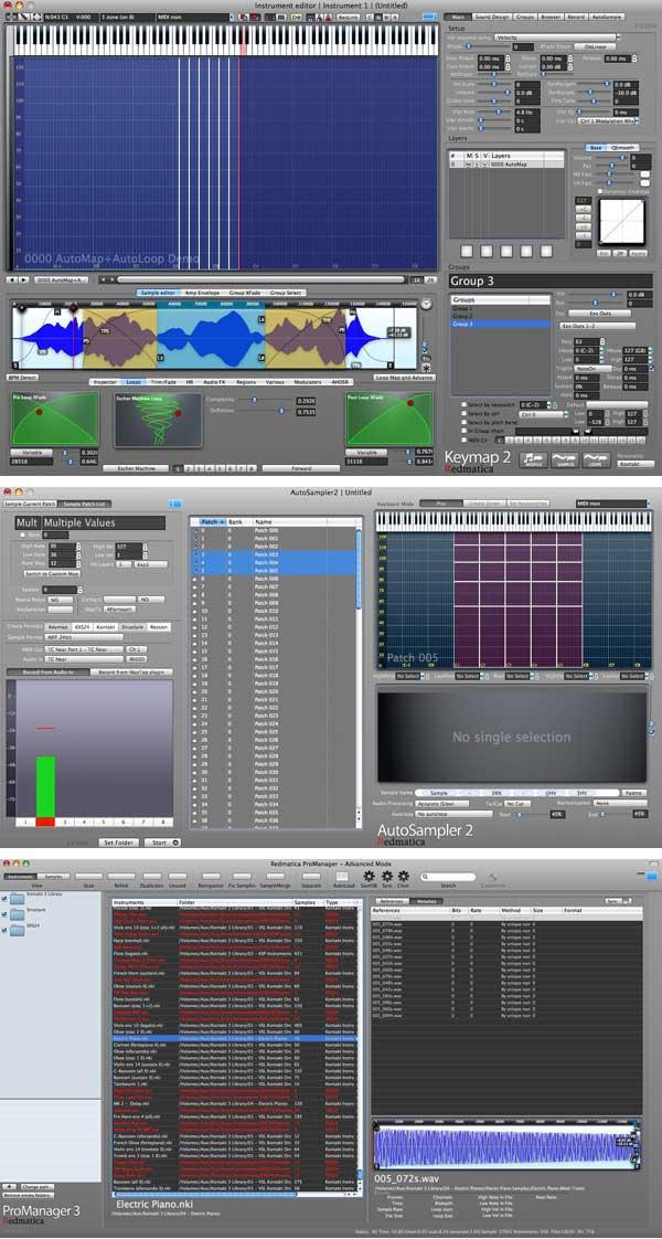 Redmatica Compaendium Pro Bundle kreatív sampling szoftvercsomag