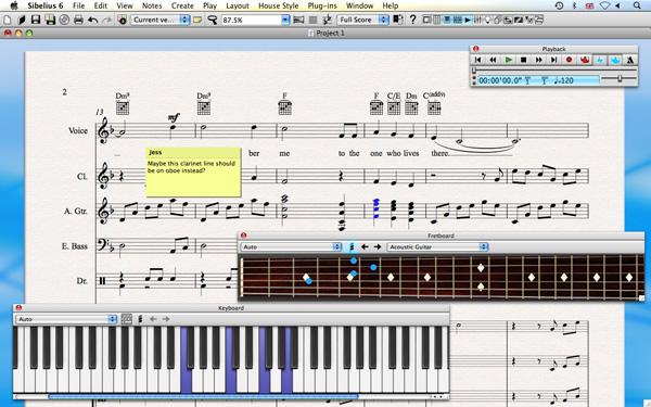 Kotta Avid Sibelius 6 screenshot