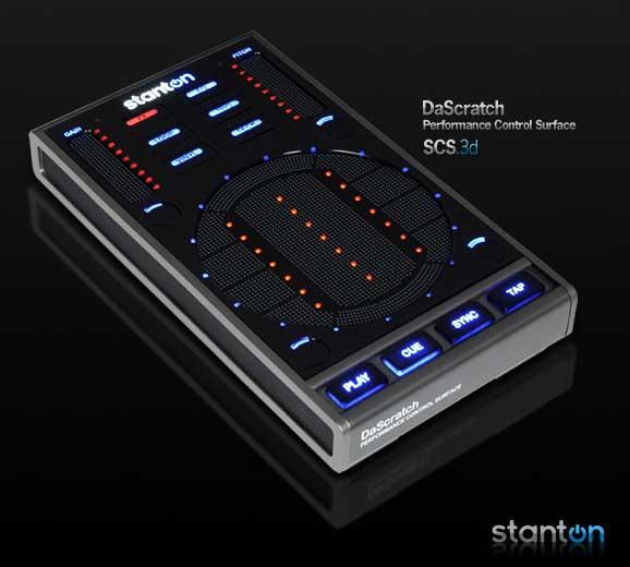 Új Stanton DaScratch érintésérzékeny DJ kontroller