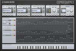Sugar Bytes Consequence akkord groovebox/szekvenszer