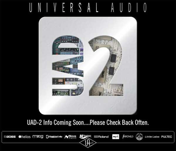 Universal Audio UAD-2 teaser