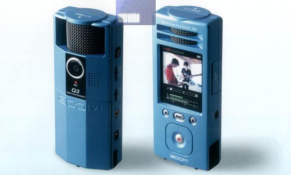 Samson Zoom Q3 audio + video recorder