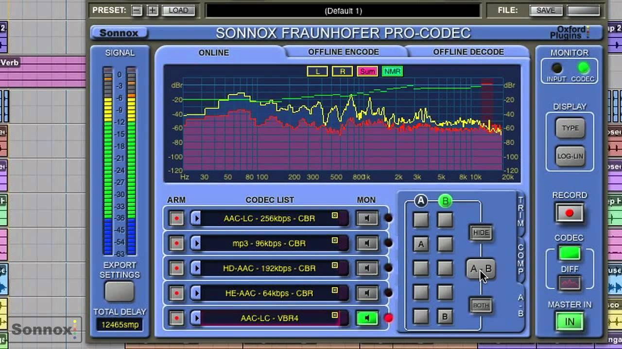 Megjelent a Sonnox Fraunhofer Pro-Codec