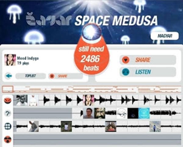 Média automatizálás: Zagar – Space Medusa single Facebook promó