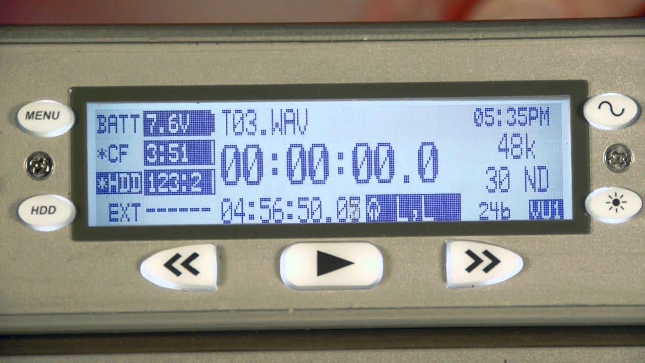 Sound Devices 788T – 8 csatornás felvevő/recorder